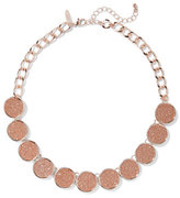 New York & Co. Glittering Circle Collar Necklace