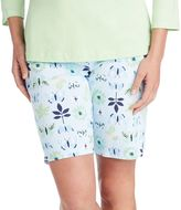 Jockey Women's Pajamas: Butterfly Sleep Bermudas