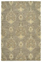 Dartmoor Oriental Hand-Tufted Wool Taupe Area Rug Charlton Home Rug Size: Rectangle 2' x 3'
