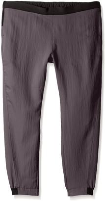 WONDERWINK Women's Plus Ffx Sport Jogger Scrub Pant Petite Extended Size