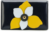 Marni floral appliqué coin purse