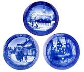 Royal Copenhagen Set of 3 Christmas Plates