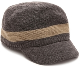 Chaos Stripe Knit Military Hat