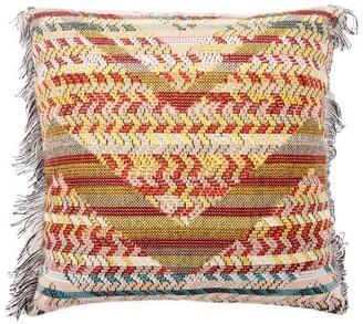 Missoni Home Yannoulis Dolomiti Zigzag-jacquard Cushion - Brown Multi