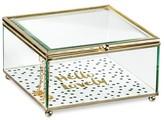 Tricoastal Design Decorative Box Tricoa Glass Multi-colored Square