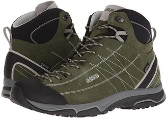 Asolo Nucleon Mid GV MM (Rifle Green/Silver) Men's Boots
