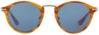 Persol Calligrapher Round Frame Sunglasses