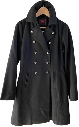 Kappa Black Wool Coats