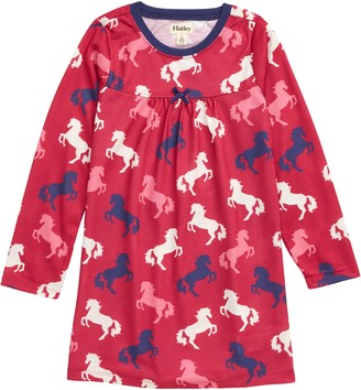 Hatley Playful Horses Nightgown