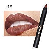 TONSEE Women Fashion Waterproof Makeup Long Lasting Lipstick Moisturize Lip Gloss Pencil (11#)