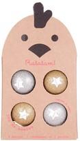 RATATAM Gold and Silver Balls Set