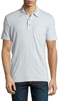 AG Jeans Cliff Polo Shirt, Gray