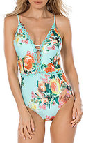 Becca by Rebecca Virtue High Tea Plunge One-Piece