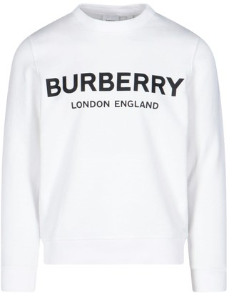 Burberry Round Neck Horseferry Print Sweater
