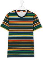 Paul Smith striped T-shirt - kids - Cotton/Spandex/Elastane - 14 yrs
