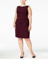 Calvin Klein Plus Size Sunburst Sheath Dress