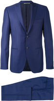 Canali pointed lapels two-piece suit - men - Cupro/Wool - 48