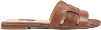Nine West Genuine Flat Slide Sandals