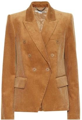 Stella McCartney Double-breasted corduroy blazer