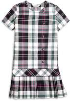 Brooks Brothers Short-Sleeve Plaid Dress