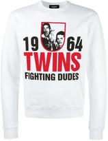 DSQUARED2 1964 Twins printed sweatshirt - men - Cotton - S
