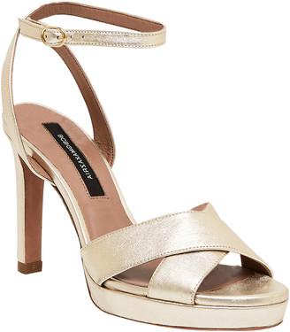 BCBGMAXAZRIA Leah Leather Sandal