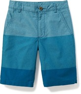 Old Navy Flat-Front Madras Shorts for Boys