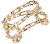 Alexis Bittar 14K Goldplated Orbiting Chain Cuff Bracelet