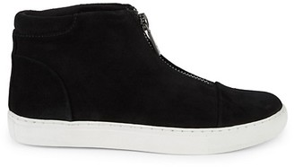 Kenneth Cole New York Kayla Suede Zip High-Top Sneakers