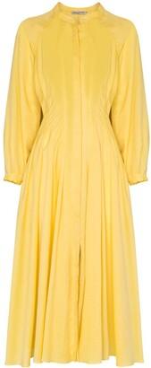 Three Graces Valerie pleated dress