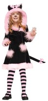 Toddler Girl Pretty Kitty Costume