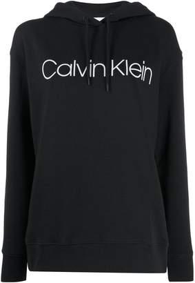 Calvin Klein printed logo hoodie