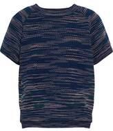 M Missoni Crochet-Knit Top