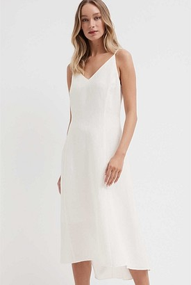 Witchery Linen Slip Dress