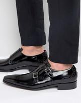 Jeffery West Lille Leather Monk Shoe