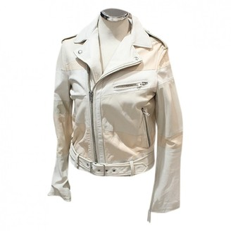 IRO Beige Leather Jackets