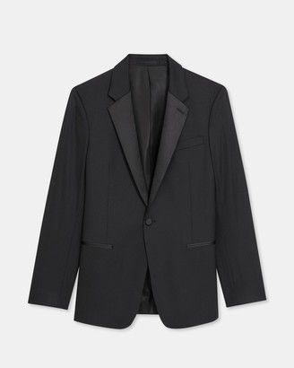 Theory Chambers Tuxedo Blazer in Stretch Wool
