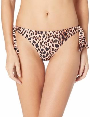 GUESS Women's Patterned Brazilian Bikini Bottom