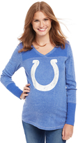Motherhood Indianapolis Colts NFL Long Sleeve Maternity Graphic Tee
