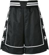 Philipp Plein contrast trim track shorts - men - Cotton/Polyamide/Polyester/Spandex/Elastane - M