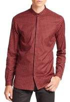 The Kooples Buffalo Checked Shirt