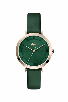 Lacoste Women's Geneva Stainless Steel Quartz Watch with Leather Strap