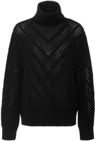 Frame Chevron Turtleneck