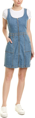 7 For All Mankind Seven 7 Denim A-Line Dress