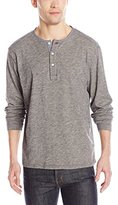 Pendleton Men's Long Sleeve Henley Dark Indigo Shirt, Light Indigo