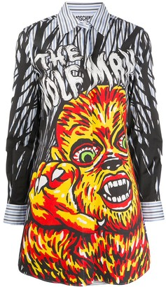Moschino The Wolfman shirt dress