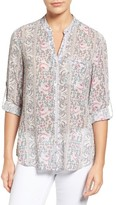 KUT from the Kloth Women's Jasmine Floral Print Blouse