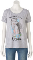 "Disney Disney's Juniors' Moana ""Born To Be In The Ocean"" Graphic Tee"