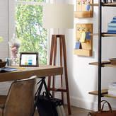 Heathfield & Co Tripod Antique Oak Floor Lamp