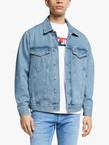 Tommy Hilfiger Tommy Jeans Oversized Denim Trucker Jacket, Denim